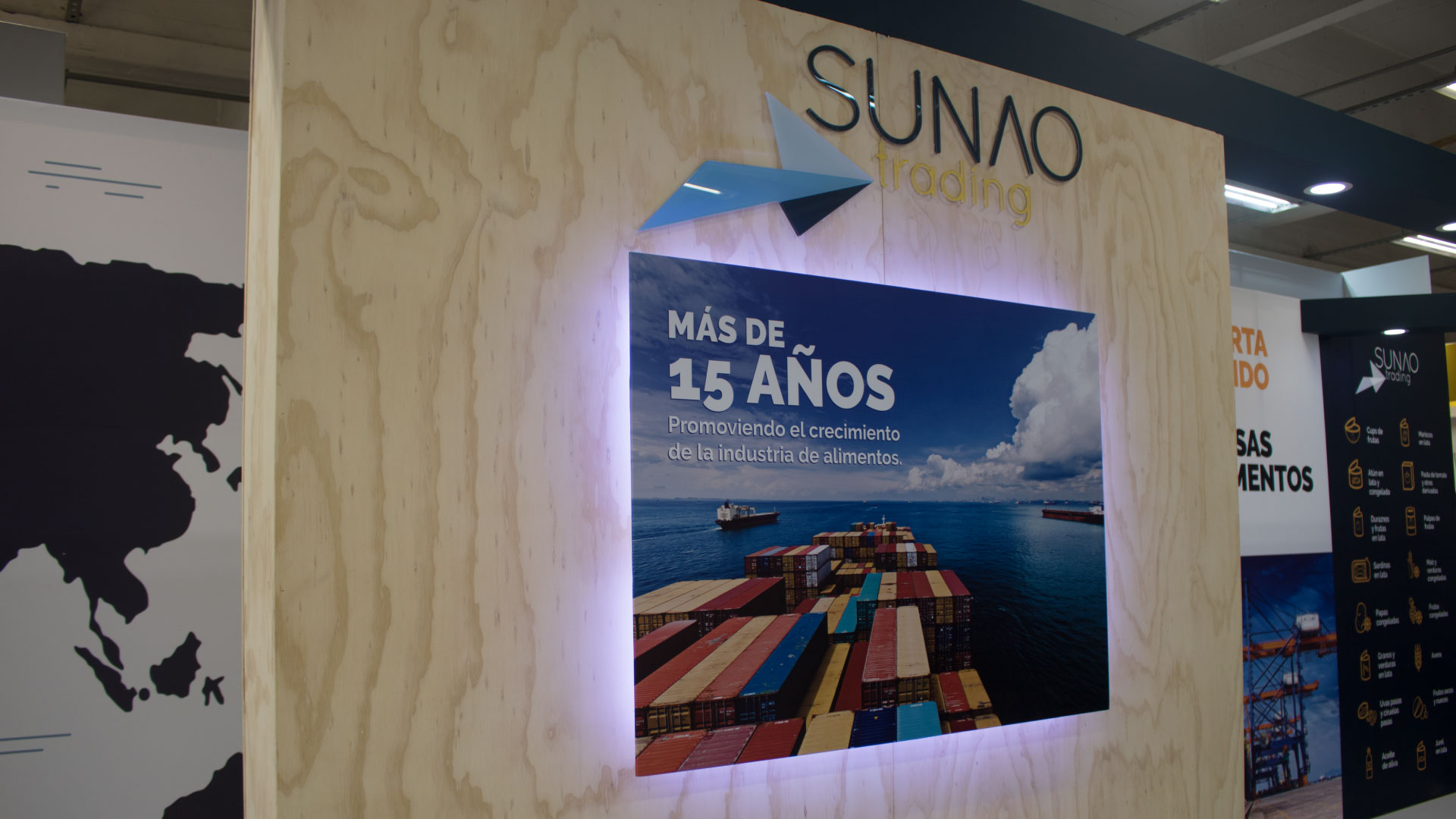 Sunao Trading - Stand Alimentec