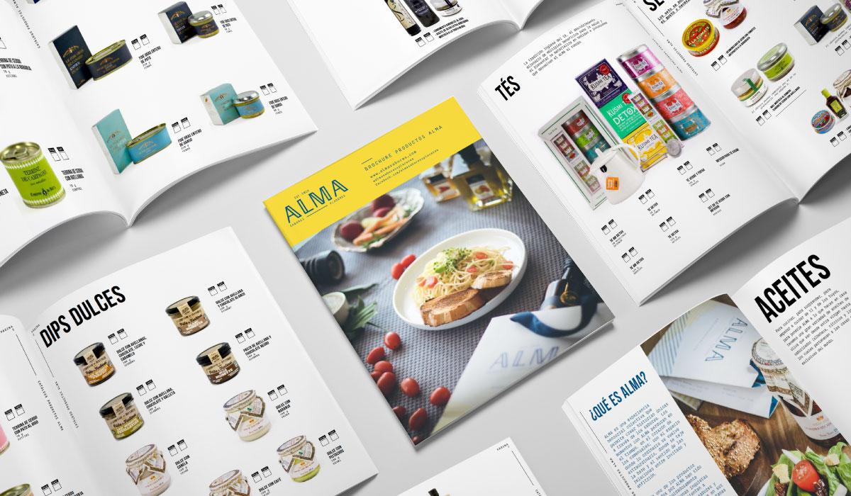 Alma - catálogos
