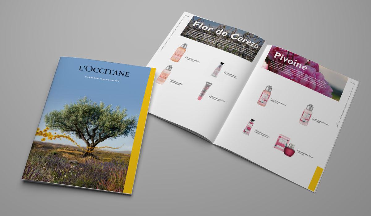 L´Occitane - catálogos
