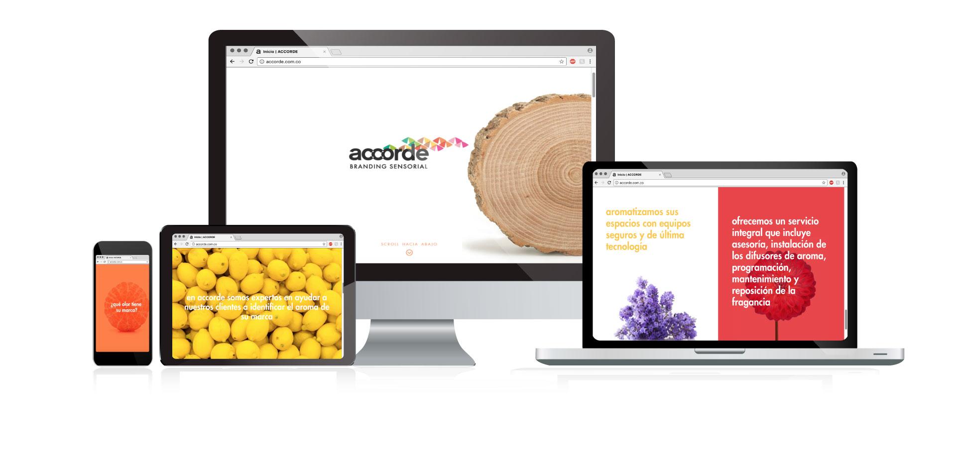 Accorde -  Landing Page
