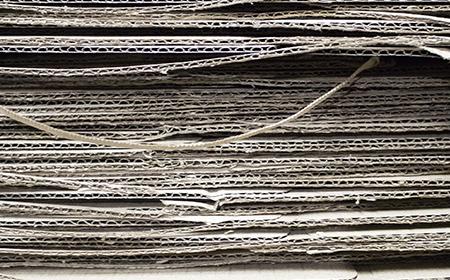 Cartón reciclado, una fuente de inspiración.